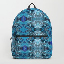 Mesmerizing Wild Floral Geometric Backpack