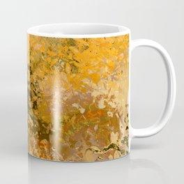 Abstract fall foliage Coffee Mug