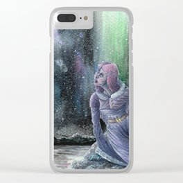 Among the Lights Clear iPhone Case