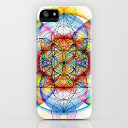 Sunrise - The Sacred Geometry Collection iPhone Case