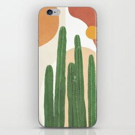 Abstract Cactus I iPhone Skin