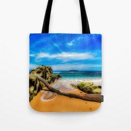 Singular Tropical Beach Tote Bag