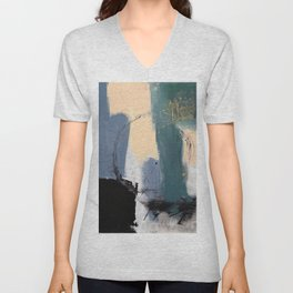abstract circle illustration Unisex V-Neck