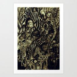 Apparitions Art Print