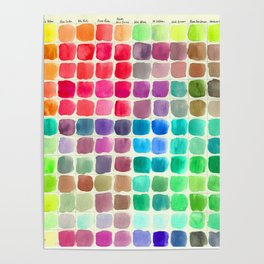 Mom's Paints Poster