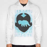 airbender Hoodies featuring The Last Airbender by Carmen McCormick