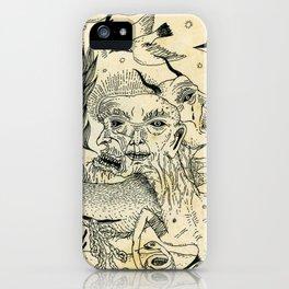 Grotesque Flora and Fauna iPhone Case