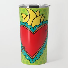 El Corazon Travel Mug