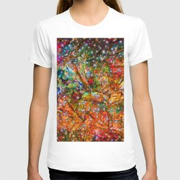 gift wrapping paper T-shirt