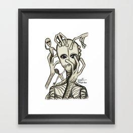 Alien Prod - Mazuir Ross Framed Art Print