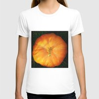 pumpkin T-shirts featuring Pumpkin ^_^ by Julia Kovtunyak