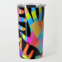 Hands of colors | Hands of light Travel Mug