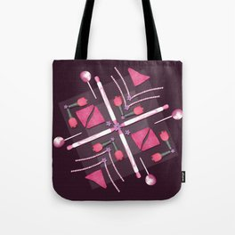 Breast Cancer Survivor Kaleidoscope Art Tote Bag