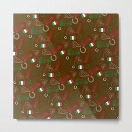 Italian pattern Metal Print