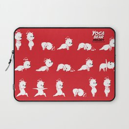 Yoga Bear - Polar Bear Laptop Sleeve