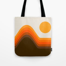 Golden Horizon Diptych - Left Side Tote Bag