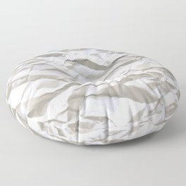 Crumpled Paper Floor Pillow