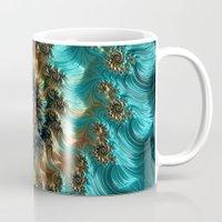 supreme Mugs featuring Aqua Supreme by Steve Purnell