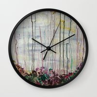 forrest Wall Clocks featuring Spring Forrest by Stephanie Cole CREATIONS