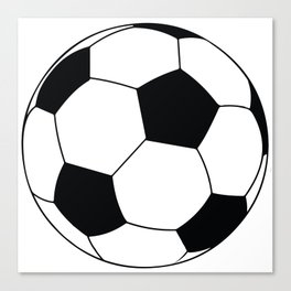 World Cup Soccer Ball - 1970 Canvas Print