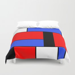 Mondrian #51 Duvet Cover