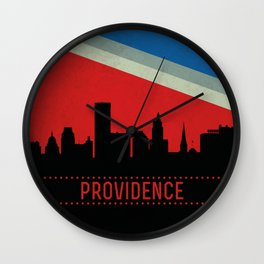 Providence Skyline Wall Clock
