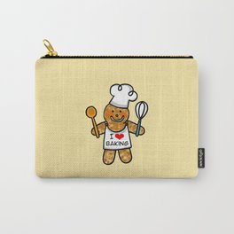 Gingerbread man bakery cookie baker Carry-All Pouch