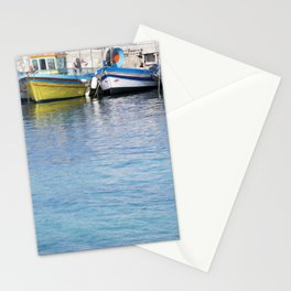 Mondello in Blue Stationery Cards
