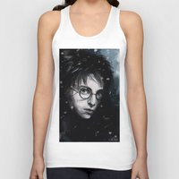 harry Tank Tops featuring Harry by LucioL
