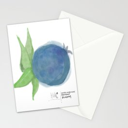 I've Got the Blues • Rustic Blueberry Stationery Cards