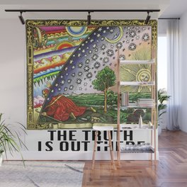 Flammarion Engraving Flat Earth Truth Wall Mural