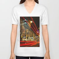 berlin V-neck T-shirts featuring Berlin! by Ricarda Balistreri