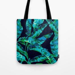 Tropical addiction - midnight grunge Tote Bag