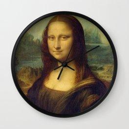 Classic Art - Mona Lisa - Leonardo da Vinci Wall Clock