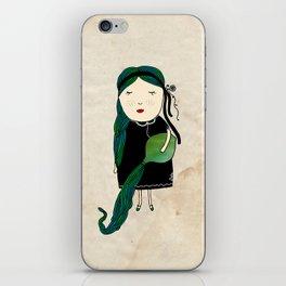 Aquario Girl iPhone Skin