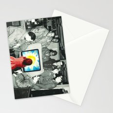 Blind leading the blind Stationery Cards