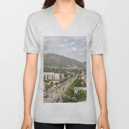 Salt Lake City Street Unisex V-Neck