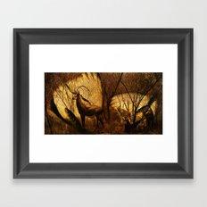 Diorama :: Antelope Framed Art Print