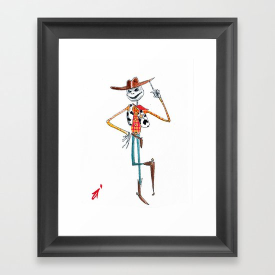 A Toy's Nightmare Framed Art Print