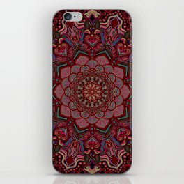 Mandala Project 285 | Red iPhone Skin