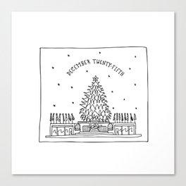 December Twenty-Fifth Canvas Print