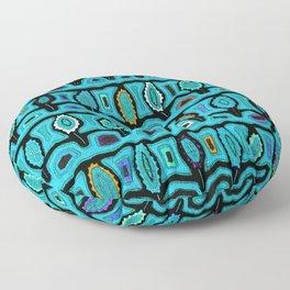 Dancing Sea Turtles Floor Pillow