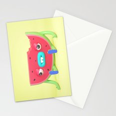 Watermelon dude Stationery Cards