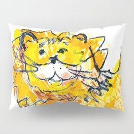Lion illustration for kids Pillow Sham