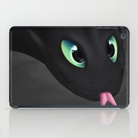 toothless iPad Cases featuring Toothless by Alkraas