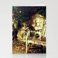 lonely Stationery Cards featuring Lonely by Iva Yaneva
