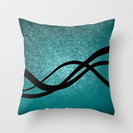 Relaxed Flow5 Throw Pillow