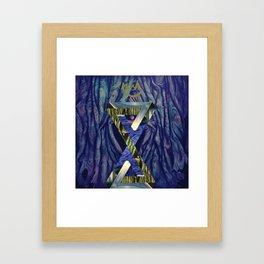 Kush n Angles Framed Art Print