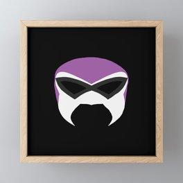 Fantasma  Mask Framed Mini Art Print