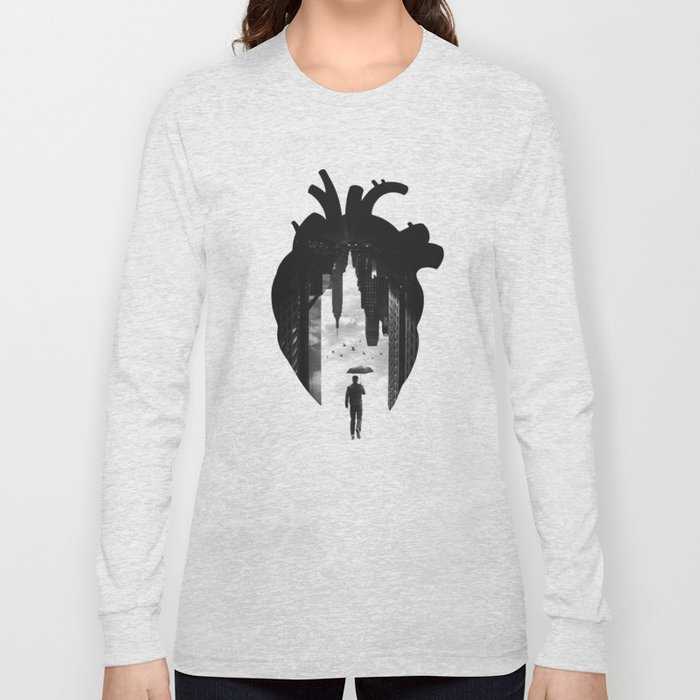 In the Heart of the City Long Sleeve T-shirt